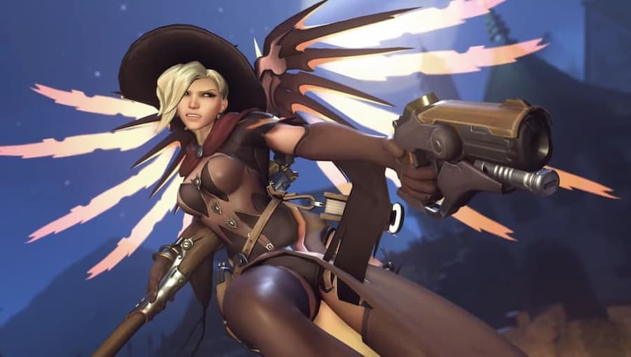 Overwatch Mercy Skin