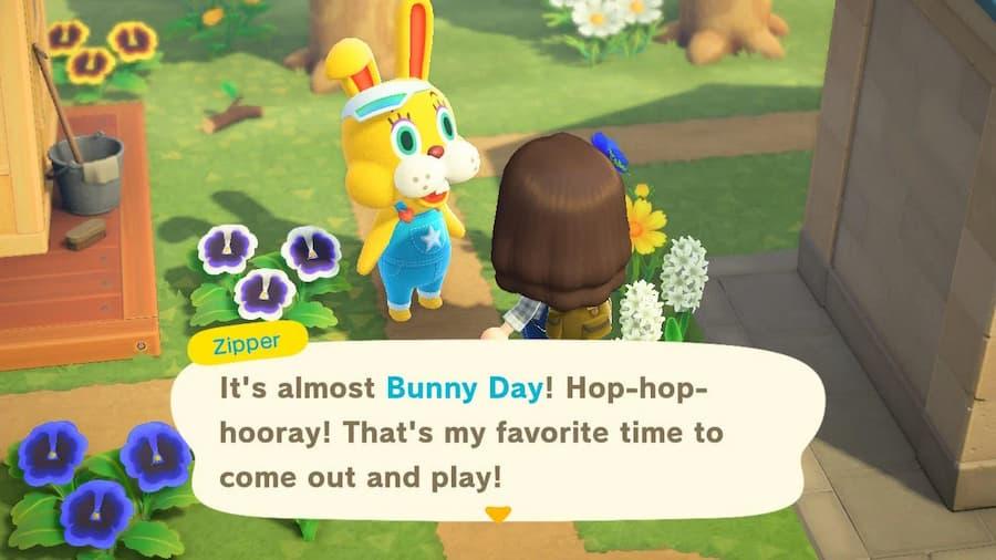 Animal Crossing Bunny Day