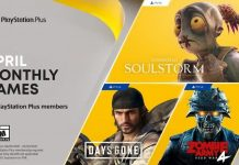Playstation Plus April