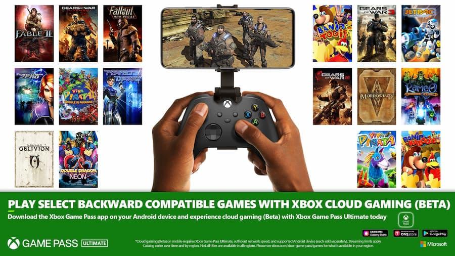 Xbox Gamepass Cloud Gaming