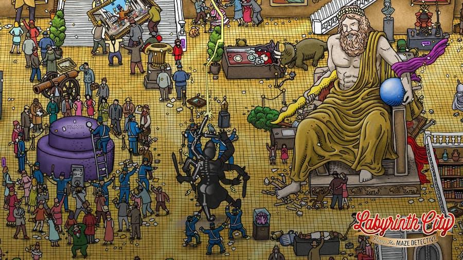 Labyrinth City Pierre the Maze Detective 1