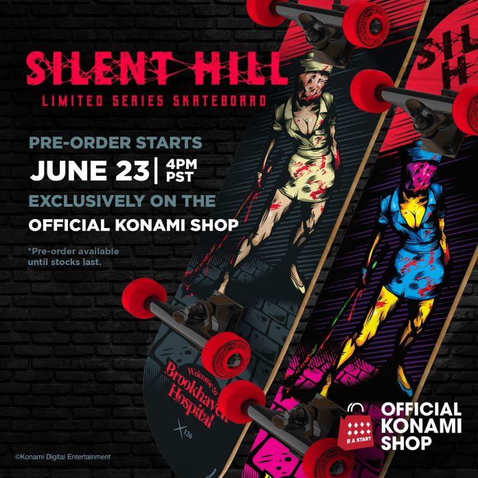 Silent Hill 2 Skateboard