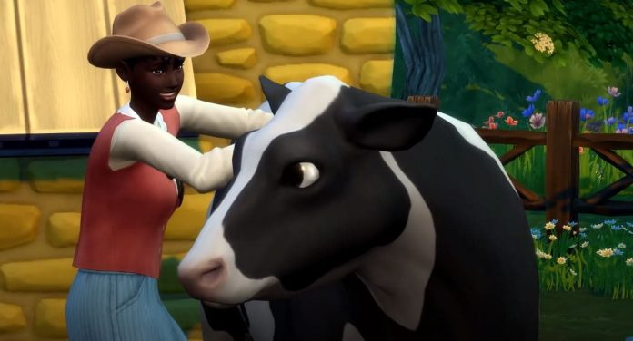 Sims 4 cottage living cow world