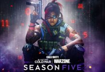 Call of Duty Black Ops Cold War Warzone Season Five