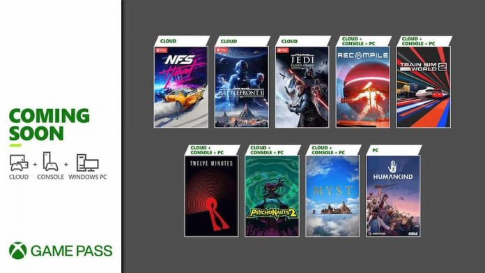 Gamepass August 2021 2nd Wave