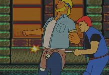 Streets of Rage Knife Galsia