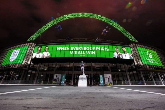 Xbox England Sponsorship