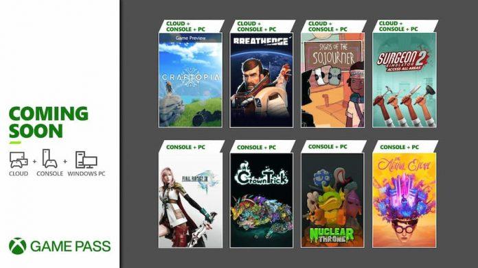 Xbox Game Pass September