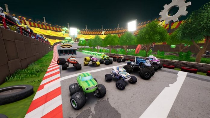 Blaze and the Monster Machines Axel City Racers 2 (1)