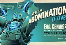 Evil Genius 2 Abomination