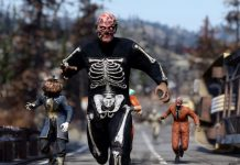 Fallout 76 Spooky Scorched